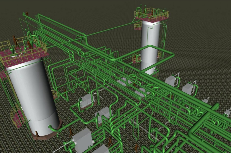 Piping system designs in refineries and