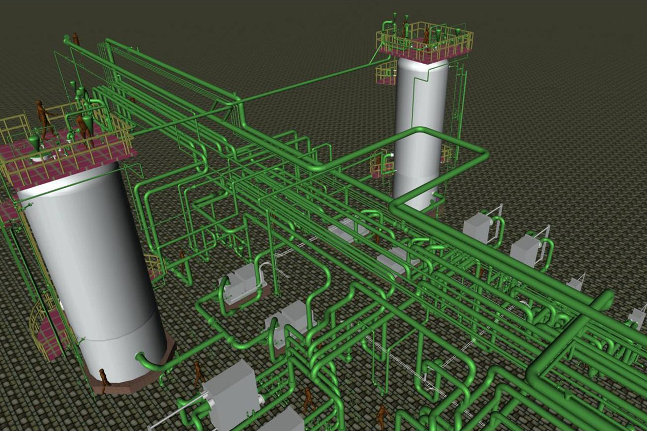 Piping Detailed Engineering For Mab Refinery In Kuwait