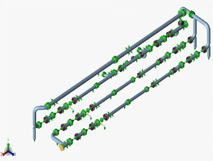 Piping Stress & Structural Analysis Calculation for Metering Skids