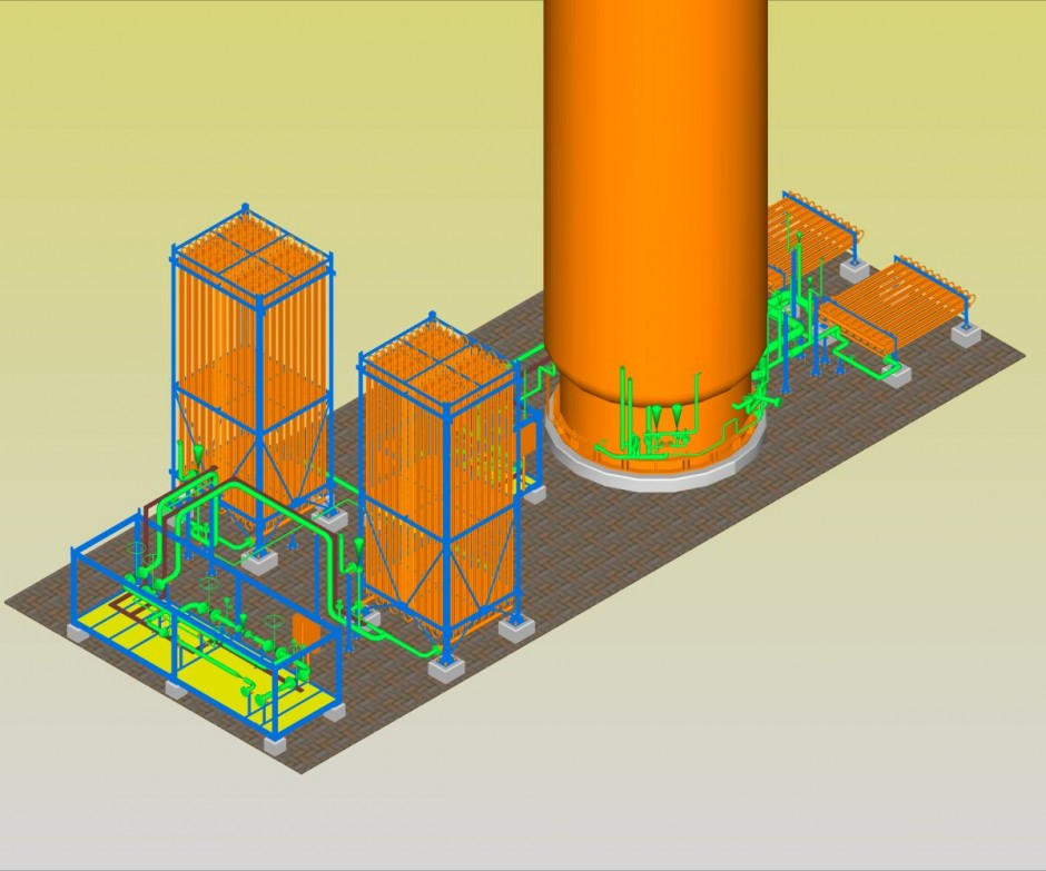 Nitrogen Package – 3D Modeling on PDS