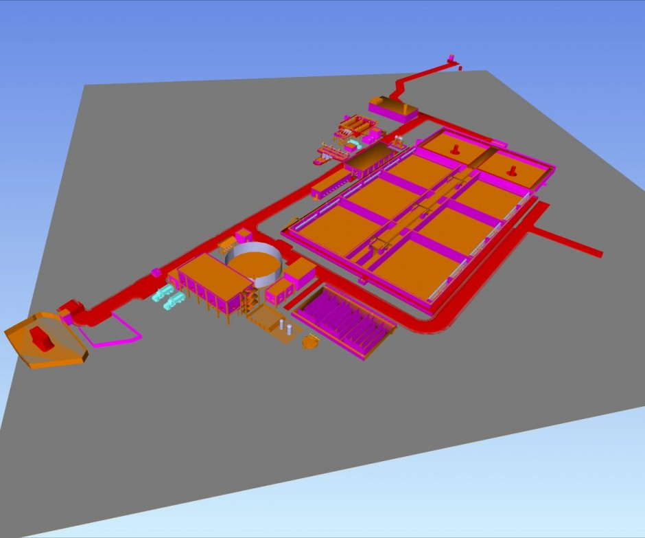Effluent Treatment Plant – 3D Modeling on PDS