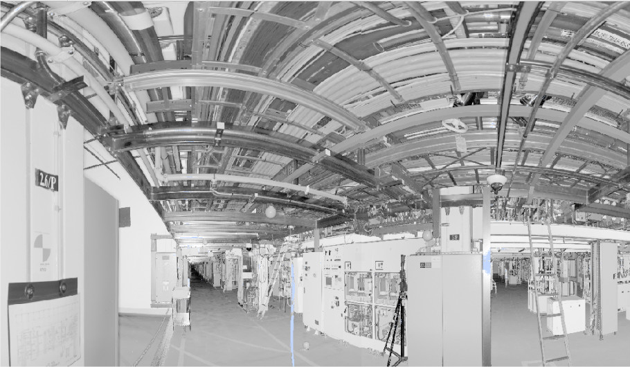 semiconductor plant view
