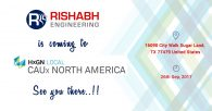 Rishabh Engineering to Attend HxGN Local CAUx North America 2017