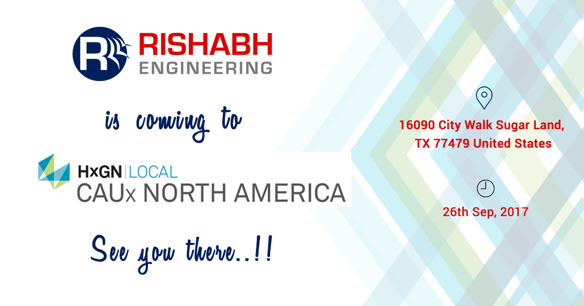 Rishabh Engineering Services to Attend HxGN Local CAUx North America 2017