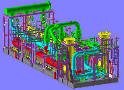 Skid System Design, 3D Modeling and Detail Engineering for an Oil and Gas Metering Skid