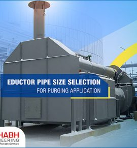Eductor Pipe Size Selection For Purging Application