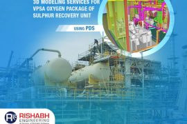 3D Modeling Services For VPSA Oxygen Package Of Sulphur Recovery