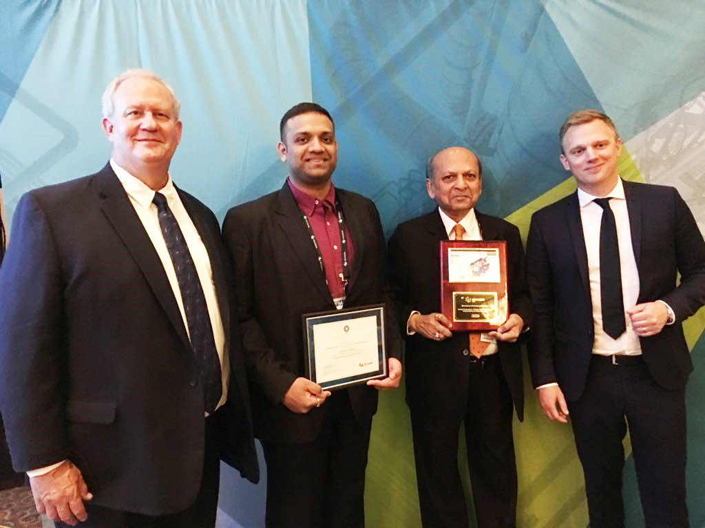 Rishabh Engineering Services Wins Drivers of Success Award Third Year in a Row at HxGN LIVE 2018