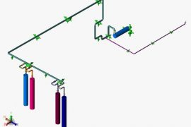 Piping Stress Analysis of Natural Gas Terminal