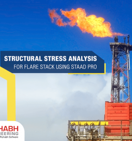 Structural Stress Analysis For Flare Stack