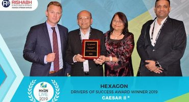 Rishabh Engineering Services Wins Drivers of Success Award Fourth Year in a Row at HxGN LIVE 2019