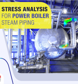 Boiler steam piping stress analysis and pipe support isometric drawings