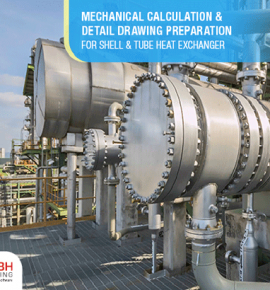 Shell and Tube Heat Exchanger GA Drawing