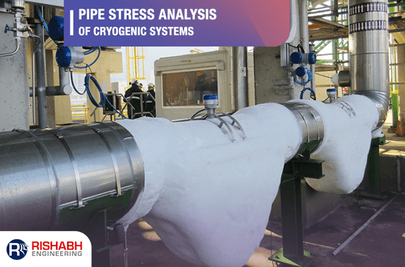 Stress analysis of cryogenic pipe systems